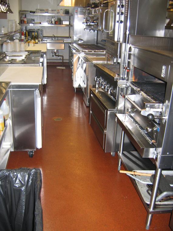 Restaurants Commercial Kitchen Floors Deckade Advanced